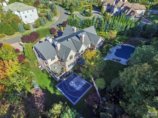 Patrick Ewing's New Jersey mansion