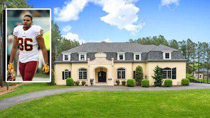 Washington Redskins Tight End Jordan Reed Selling $2.7M Virginia Estate