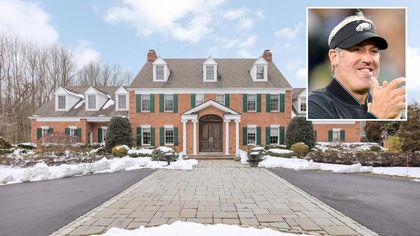 Former Philadelphia Eagles Head Coach Doug Pederson Selling NJ Mansion for $2.7M