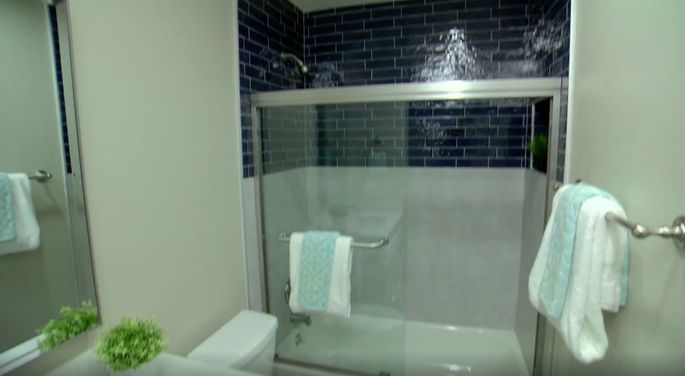 Tarek El Moussa took a risk with this tile—and it paid off!