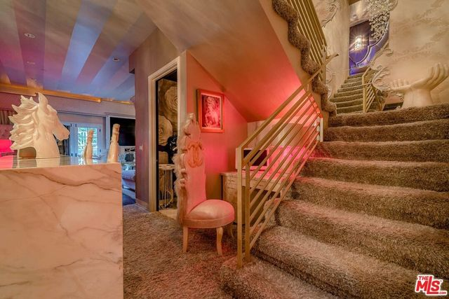 Stairs Barbie Beverly Hills condo