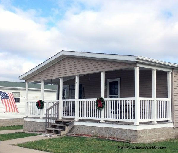 Adding Porch To Doublewids: Mobile Home Remodeling Ideas That'll Create Curb Appeal In
