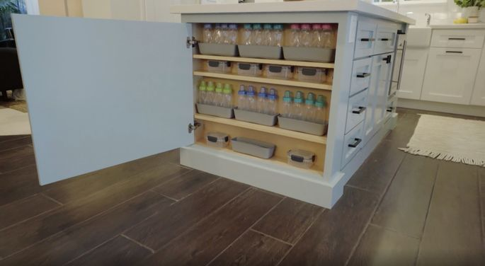 This kind of storage is a dream come true for new parents.