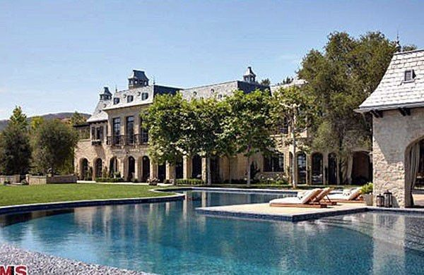Brady's former home in L.A.'s Brentwood neighborhood