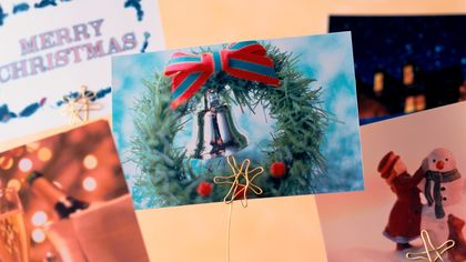 Step Away From the Mantel: Creative Ways to Display Holiday Cards