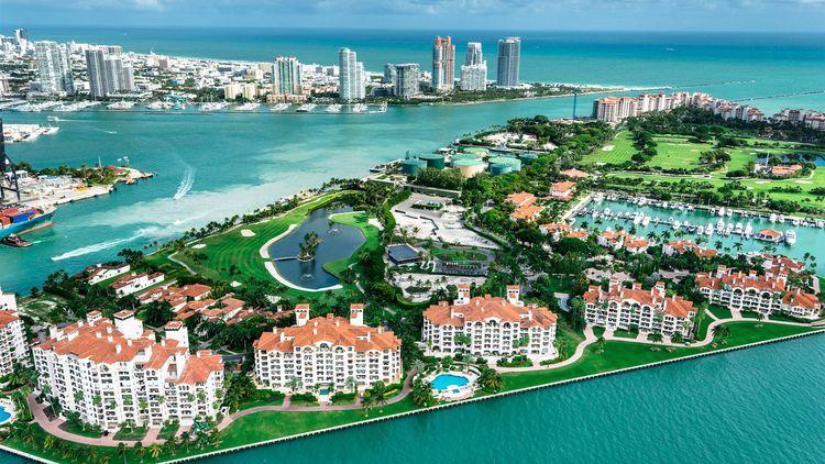 Fisher Island in Miami Beach, FL