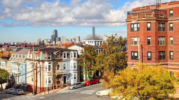 Homes in Boston