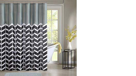 Intelligent Design Nadia shower curtain