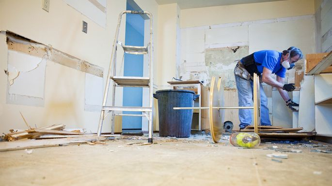 Home flipping involves a lot of work and uncertainty, but can lead to a nice payoff.