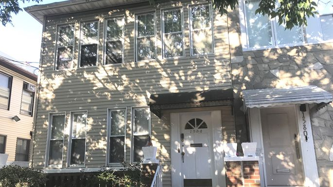 As a child, Ginsburg lived on the first floor of this Brooklyn home.