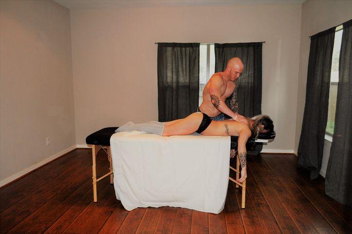Bonus room ... or makeshift massage parlor?