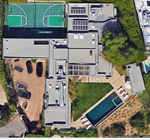 Hollywood Hills compound