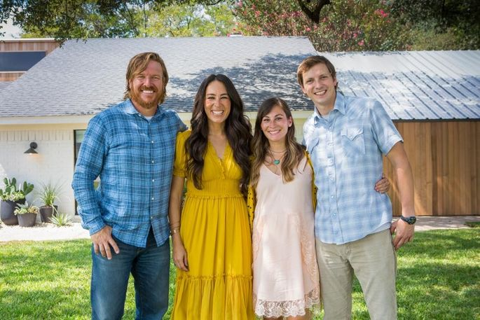 Chip and Joanna Gaines renovate a home for her sister Mary Kay McCall, who's expecting baby No. 6 with husband David McCall.