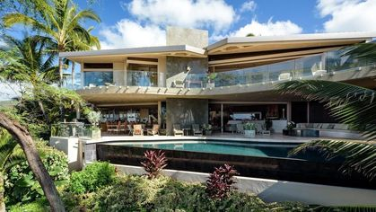 $20M Maui Mansion Is a Must-See Modern Hawaiian Fantasy