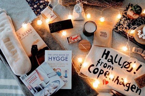 The warm, fuzzy, Danish Hygge Box.