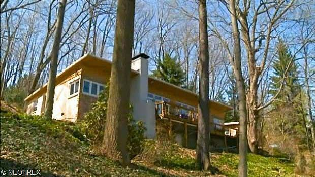 Exterior of Jeffrey Dahmer's former home in Akron, OH