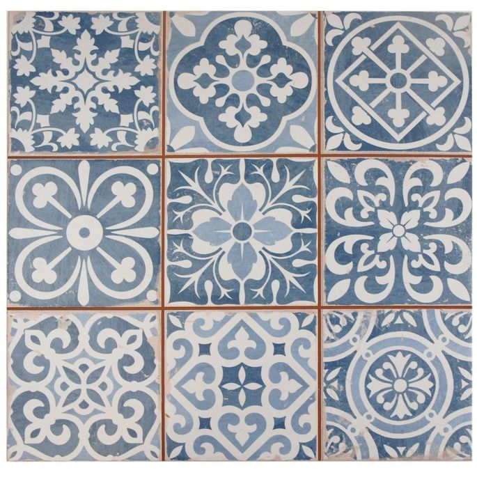 Decorative ceramic tile can liven up your kitchen or bathroom.