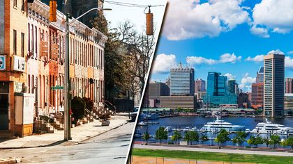 Is Baltimore 'the Worst in the USA'? That Depends on Where You Live