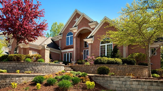 What is curb appeal supercharge a buyers 39 first for Landscaping companies