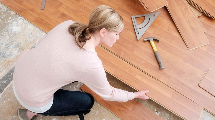 New hardwood floors are a popular renovation.
