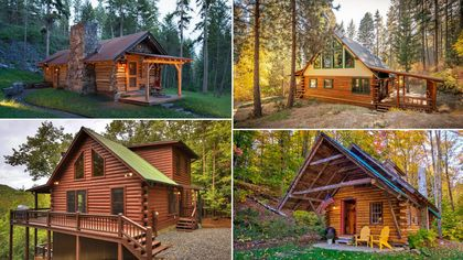 This Autumn, Why Not Snuggle Up in One of These 8 Cozy Log Cabins?