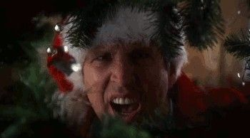 """""""Christmas Vacation"""": Leave unwanted visitors at the tree lot."""