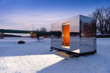 The Reading Room: Designer Warming Huts, 'Agrihoods,' and a Tribute to Spock