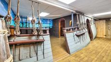 Ahoy, Mateys! Wisconsin Home Comes With a Pirate Ship in the Basement
