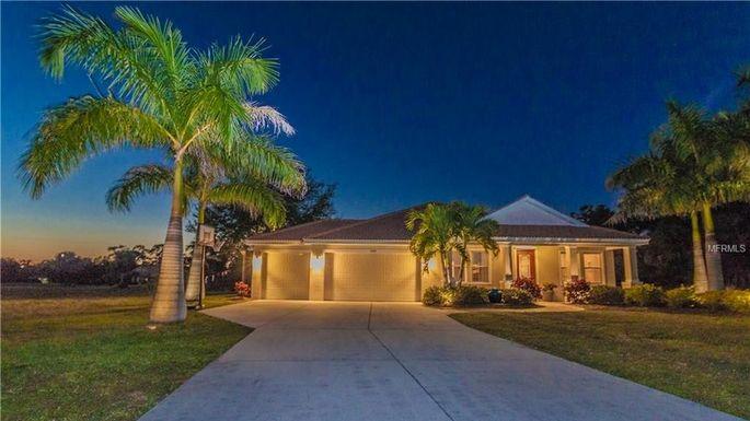 Three-bedroom home in Punta Gorda, FL