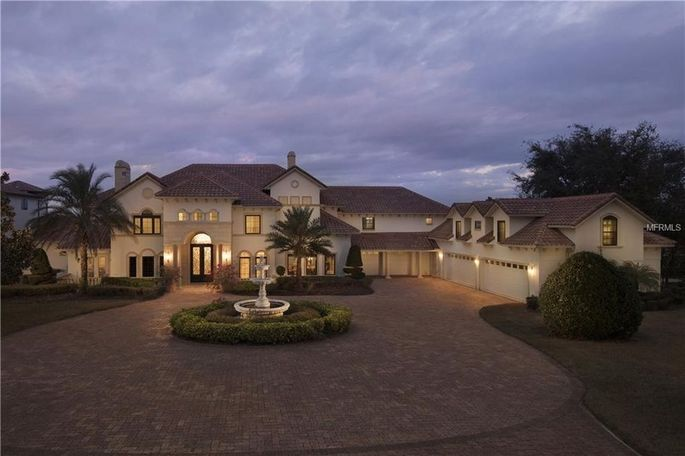 Percy Harvin's Florida home