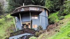 Well-Rounded: A 14-Sided Round House in Oakland Perched on Hillside