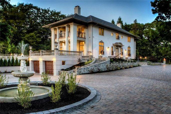 Michelle Kwan's Newport, RI, mansion