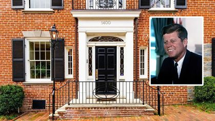Washington, DC, Home Once Owned by JFK Lands on Market for $4.7M