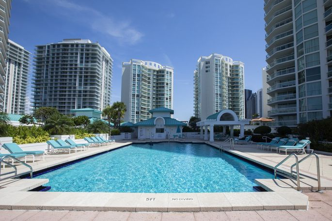 Sunny Isles Beach is estimated to have about 17 years worth of inventory of condos priced at $5 million and up.