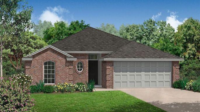New three-bedroom home in Oklahoma City.