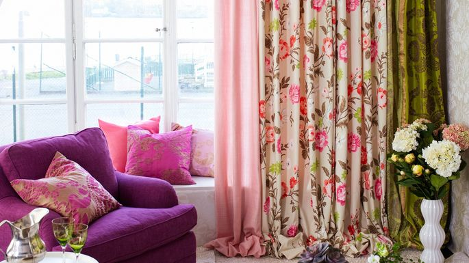 Worst home decor ideas of the 1980s for B q living room curtains