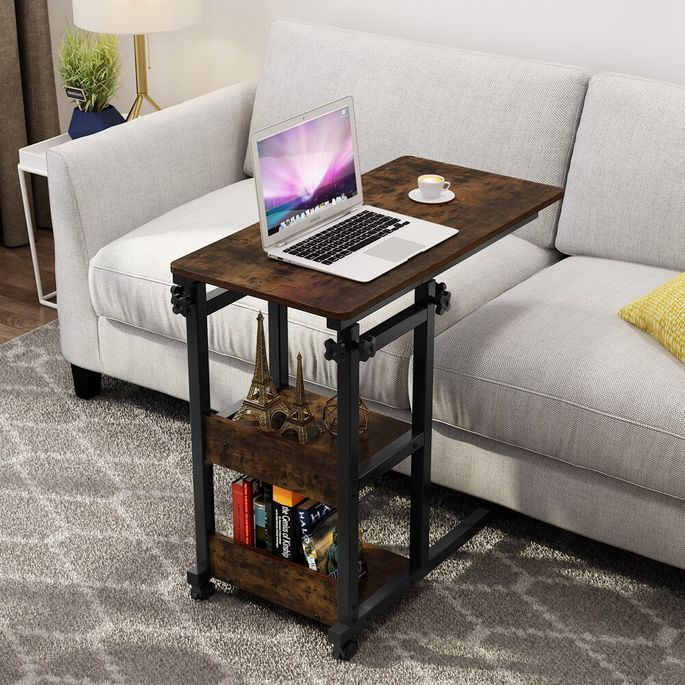 Tuck this slender piece along your couch end when the game is over.