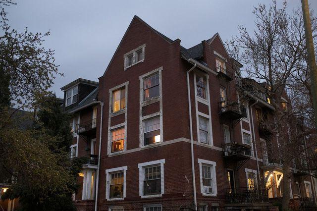 Matthew Samaha's apartment building