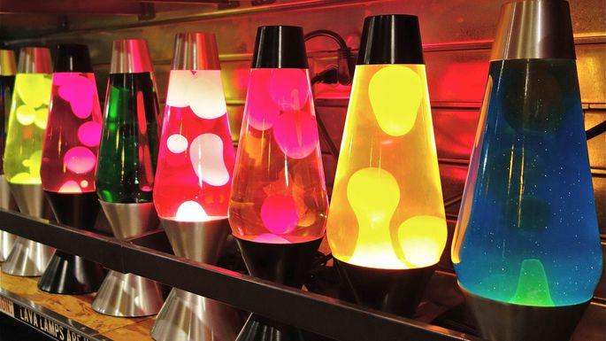 Lava Lamps Dean Hochman/Flickr