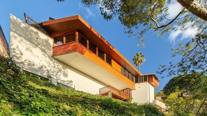 John Lautner's Personal Residence Lands on the Market in L.A. for $1.59M