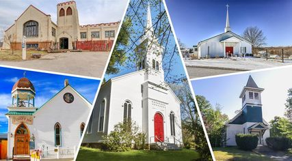 Follow in the Blessed Steps of Beyonce, and Buy One of These 11 Churches for Sale
