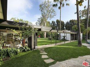Sam Simon's $18M Pacific Palisades Estate Includes a Case Study Home