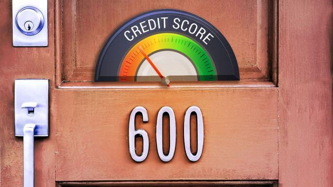 credit-score-door
