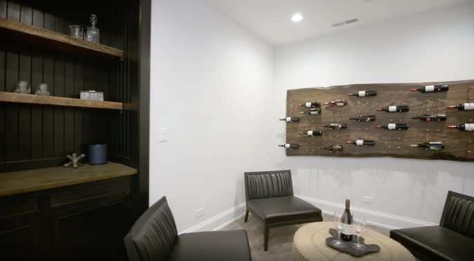 A wine room will add a lot of value for the right buyer.