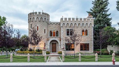 A Medieval Stronghold in Idaho? Meet the Quirky, Eco-Friendly Boise Castle