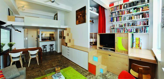 Architect's Loft. From 150 Best Mini Interior Ideas by Francesc Zamora Mola. Architect PorterFanna Architecture.
