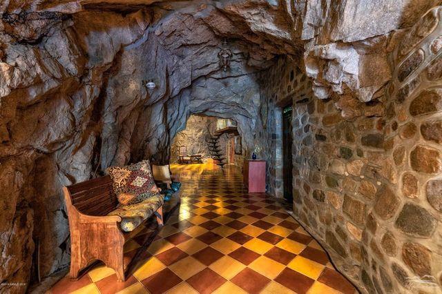 Hallway Cave house Bisbee AZ