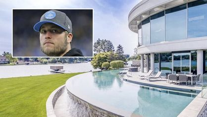 Lions QB Matthew Stafford Selling Luxe Lakefront Mansion in Michigan for $6.5M