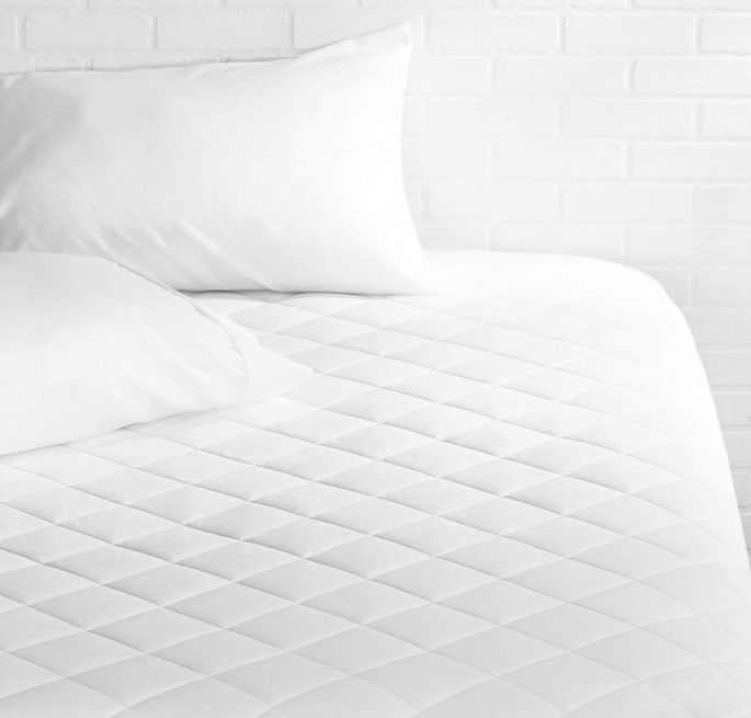 Use a mattress pad to protect your sheets from leftover grime.