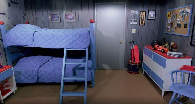 brady boys' room